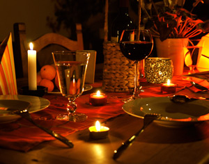 Candle Light Dinner in Bad Salzuflen