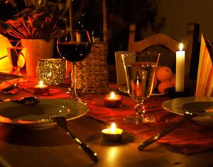 Candle Light Dinner in Cottbus