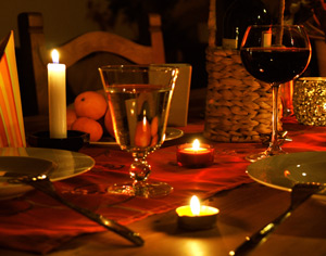 Candle Light Dinner in Cuxhaven